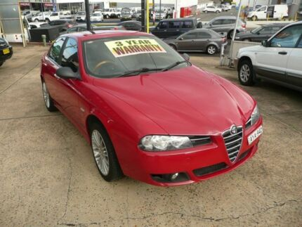 2005 Alfa Romeo 156 JTS Red 5 Speed Manual Sedan Croydon Burwood Area Preview