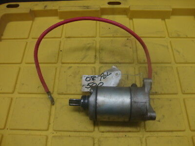 08 2008 POLARIS ATV SPORTSMAN 500 ENGINE STARTER #YH67