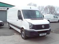 Volkswagen Crafter CR35 lwb High Roof 136ps DIESEL MANUAL WHITE (2016)