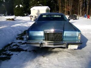 Lincoln MK V 1978 Bumpers