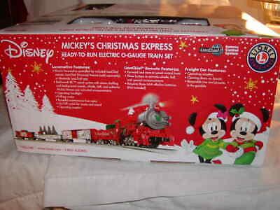 Lionel 1923140 Disney Mickey's Christmas Express Train Set O 027 LC BT MIB New