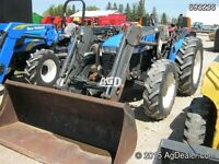 New Holland TN75 4WD Tractor with Loader