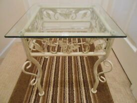 Occasion Table ..Glass ..Top...