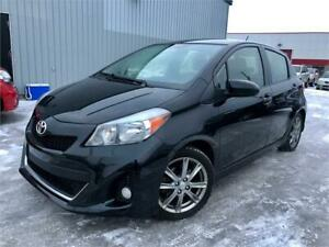 2014 TOYOTA YARIS SE SPORT 173,000KM A/C / GRP ELEC / MAGS !