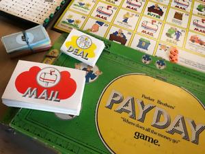 Jeu de société 1974 PAYDAY Board Game - Vintage, Collector's