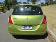 2012 Suzuki Swift FZ GL Lime Green 4 Speed Automatic Hatchback Old Reynella Morphett Vale Area Preview