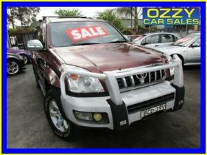 2007 Toyota Landcruiser Prado KDJ120R MY07 GXL (4x4) Red 5 Speed Automatic Wagon Minto Campbelltown Area Preview