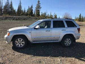 2008 Jeep Grand Cherokee Overland edition 3.0L Mercedes diesel
