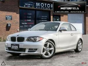 2009 BMW 1 Series 128i *Accident Free, Navigation, Sunroof*