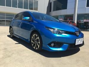 2016 Toyota Corolla ZRE182R SX Blue 6 Speed Manual Hatchback Ravenhall Melton Area Preview
