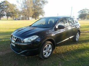 2013 Nissan Dualis J10W Series 3 MY12 ST Hatch X-tronic 2WD Black 6 Speed Constant Variable Kempsey Kempsey Area Preview