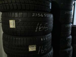 255/45 R20 PIRELLI SCORPION ICE AND SNOW WINTER TIRES USED SNOW TIRES (SET OF 3 - $270.00) - APPROX. 70% TREAD