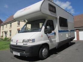 2001 CI CARIOCA 10 FIVE BERTH MOTORHOME FOR SALE