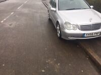 2007 MERCEDES C CLASS 2.2L CDI ESTATE MANUAL , MOT UNTIL JULY 2018 , GOOD RUNNER CAR