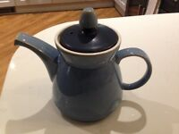 "Denby ""Blue Jetty"" Large Teapot"