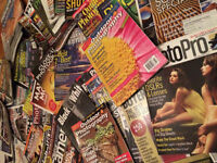 83 Photographers magazines all for $50 that's less than a dollar