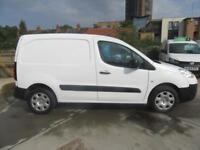 Peugeot Partner L1 850 S 1.6 92PS (SLD) EURO 5 DIESEL MANUAL WHITE (2015)