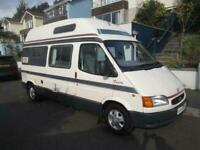 Auto Sleeper DUETTO 2 BERTH. HIGH TOP CAMPERVAN FOR SALE