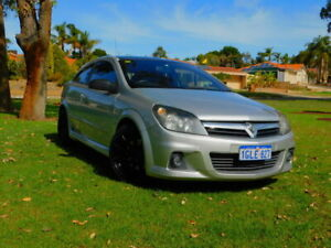 2007 Holden Astra AH MY07 SRI Turbo Silver 6 Speed Manual Coupe