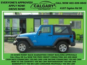 2011 Jeep Wrangler Sport *$99 DOWN EVERYONE APPROVED*