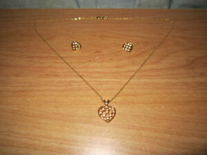 Fashion Jewelry Neckless & Matching Earrings