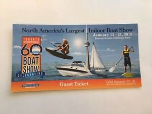 Toronto  International Boat show  Jan 13 to 21