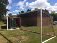 Full Size 11-a-side Football Goals - £500 ono