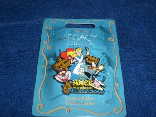 Disney 2021 Legacy Collection ALICE IN WONDERLAND 70th Anniversary  Pin