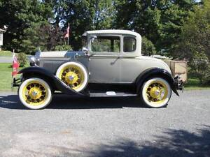 1930 Model A Ford Coupe