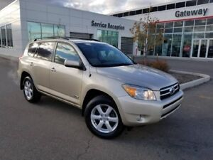 2007 Toyota Rav4 4WD 4DR V6 LIMITED Sunroof, Cruise, Dual Climat