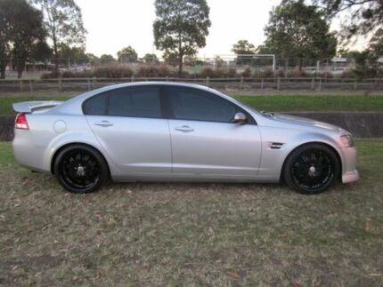 2008 Holden Commodore VE MY09 Omega Silver 4 Speed Automatic Sedan Mayfield East Newcastle Area Preview