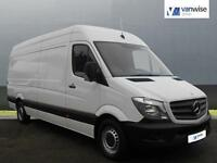 2014 Mercedes-Benz Sprinter 313 CDI LWB Diesel white Manual
