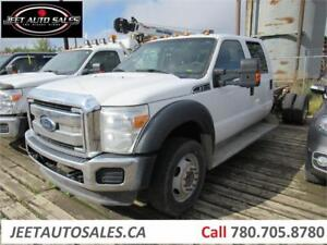 2012 Ford Super Duty F-550 DRW XLT Cab & Chassis