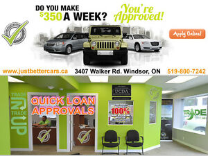 QUICK APPROVALS ON AUTO LOANS