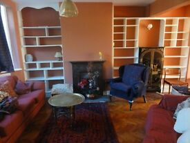 Charming, character filled, furnished 3 bed house with lovely garden in premier street - 3 MONTH LET