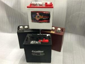 Golf Cart Batteries - 6, 8 & 12 Volt - Excalibur Custom Carts