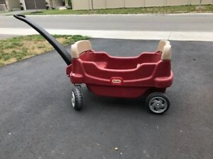 Little Tikes Lil Wagon, Red. Ideal size for kids to pull along