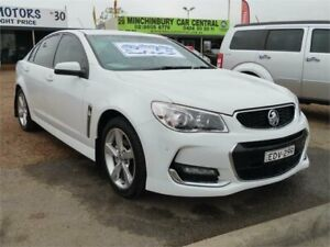 2015 Holden Commodore VF II MY16 SV6 White 6 Speed Sports Automatic Sedan Mount Druitt Blacktown Area Preview