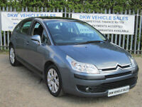 CITROEN C4 1.6 16V CACHET 5DR 2008 (08) ONLY ONE OWNER / FSH 7 STAMPS / 1YR MOT!