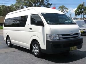 2009 Toyota Hiace TRH223R MY07 Upgrade Commuter White 4 Speed Automatic Bus Condell Park Bankstown Area Preview