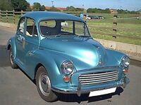 Gorgeous 1969 Morris Minor 1000 Saloon For Sale