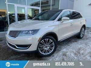 2018 Lincoln MKX RESERVE FULL LOAD 2 SETS OF TIRES/WHEELS CREME