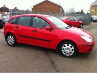 Ford Focus, 1.6, low mileage,