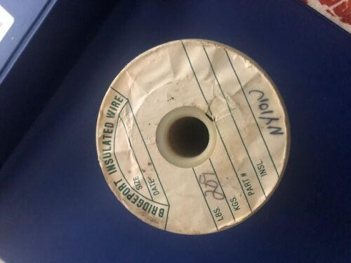 """BRIDGEPORT  INSULATER WIRE 40AWG 3""""SPOOL SIZE"""