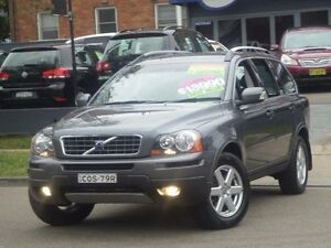 2007 Volvo XC90 MY07 D5 Grey 6 Speed Automatic Geartronic Wagon Clyde Parramatta Area Preview