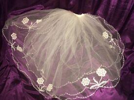 vintage brides wedding veil forsale