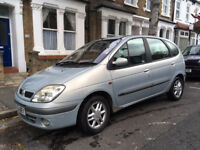 Renault Scenic 1.6 16v petrol. Great cheap car, recent new gearbox, clutch, brake system