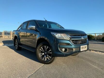 2016 Holden Colorado RG MY17 LTZ Pickup Crew Cab Blue 6 Speed Sports Automatic Utility Port Adelaide Port Adelaide Area Preview