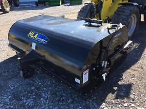 New HLA BRB84 hydraulic rotary pick up broom