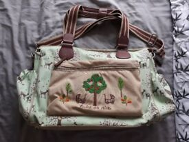 Pink linings nappy bag